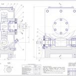 Чертежи, инженерная графика, начертательная геометрия, детали машин, Новосибирск