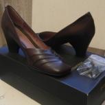 Продам новые коричневые туфли, Новосибирск