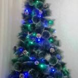 Супер-пушистая новогодняя искусственная елка, Новосибирск