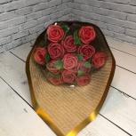 Букет ассорти из 13 шоколадных роз, Новосибирск