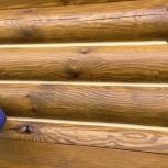 Обучение герметизации деревянного дома, Новосибирск