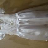"""Платье новогоднее """"снежинка"""" для девочки продам, Новосибирск"""