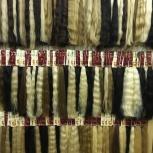 натуральные волосы на срезе, трессе и заколках, Новосибирск