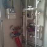 монтаж систем водопровода, канализации, Новосибирск