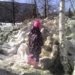 Продам куртку и штаны весна на девочку 3 лет, Новосибирск