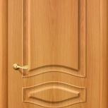 """Дверь межкомнатная ПВХ-коллекция, модель """"Леона ДГ"""" Миланский орех, Новосибирск"""