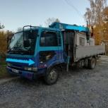 Услуги самогруза, манипулятора, Новосибирск