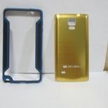 Samsung note 4 gold задняя крышка, Новосибирск