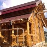 отделка домов из дерева, Новосибирск