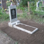 Уборка могил, Новосибирск