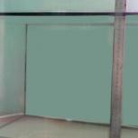 продаю плоский стеклянный бескаркасный аквариум 29 литров, Новосибирск