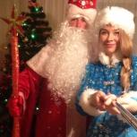 Новогодние поздравления от Деда Мороза и Снегурочки, Новосибирск