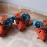 Новогодний сувенир- Мышь хохлатая, Новосибирск