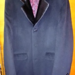 Пальто мужское, черное, стильное, Новосибирск