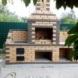Кладка печей, каминов, барбекю, Новосибирск