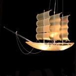Продам люстру-корабль, Новосибирск