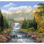 """Картины по номерам """" Водопад"""" 40х50 см, Новосибирск"""