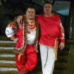Дуэт баян и балалайка. Оба поющие, Новосибирск