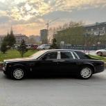 Аренда Rolls Royce c водителем, Новосибирск