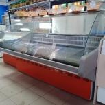 Холодильная витрина Илеть CRYSPI, ларь морозильный фростор, Шкаф Карав, Новосибирск