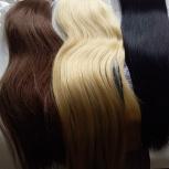Продам волосы для наращивания  на ленте трессе в среза, Новосибирск