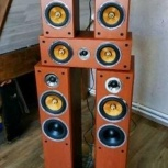 Hi-Fi Акустическая Система 5.0 Мощность 500 Ватт, Новосибирск