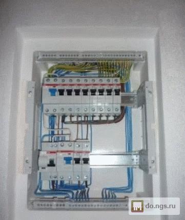 Сделать электрику в деревянном доме цена