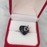 Кольцо серебро 925 проба, Новосибирск