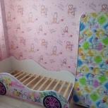 Продам кроватку-машинку для мальчика и девочки, Новосибирск