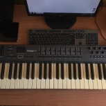 Продам миди клавиатуру M-Audio Oxygen 49, Новосибирск