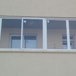 Окна балкона раздвижные, Новосибирск