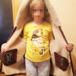 Продам дублёнку на девочку, Новосибирск