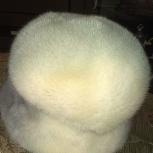 Продам женскую норковую шапку 56 размера, Новосибирск