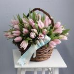 Тюльпаны  и вкусные подарки, Новосибирск