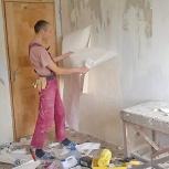 Ремонт квартир комнат лично, Новосибирск