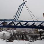 Лестница металлическая., Новосибирск