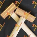 Молоток медный от 300 гр деревянной ручкой, Новосибирск