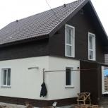 Дом недорого,из газобетона либо сибита118м.кв ,под чистовую отделку, Новосибирск