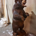 Изготовление деревянных скульптур, Новосибирск