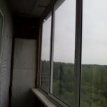 Блок балконного застекления с комплектующими, Новосибирск