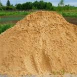 Песок качественный,  строительный. От 2тонн, Новосибирск