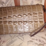 Новая мужская сумочка - портмоне из крокодиловой кожи, Новосибирск