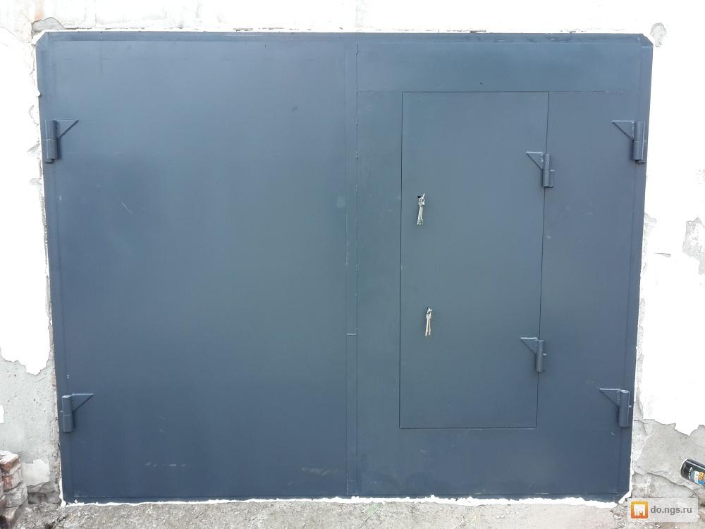 Изготовление продажа гаражных ворот новосибирск