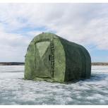Походная баня ПБ -2 с тамбуром, Новосибирск