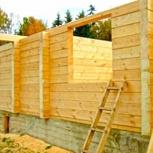 Строительство домов,бань,гаражей из бруса, Новосибирск