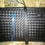 Продам мужскую кожаную сумку типа барсетки, Новосибирск