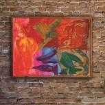 Картина, холст акрил, абстракионный импрессионизм (оптимизм), оригинал, Новосибирск