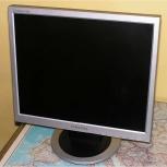 монитор Samsung 710N 17ти дюймовый, хорошее состояние, Новосибирск