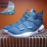 Новые баскетбольные кроссовки Nike Lebron Soldier XI Collage Navy, Новосибирск