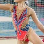 Купальник для худ.гимнастики р. 128-134, Новосибирск